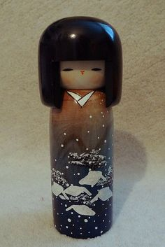 Kokeshi Doll. By Tiffany Bong (http://www.tifanani.com/). More info here: http://www.flickr.com/photos/tiffa/3992123976/