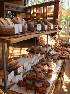 Tokyo Bakery : Le Pain Quotidien (ル・パン・コティディアン)