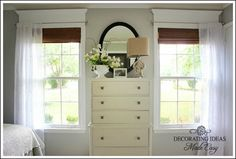 Decorating Ideas Made Easy ~ Beautiful Master Bedroom Makeover Furniture redo
