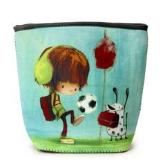 Sac à collation Ludo Ludo, Boite A Lunch, School Readiness, Back To School, Coin Purse, Lunch Box, Wallet, Purses, Football