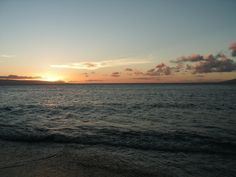another beach sunset in Maui