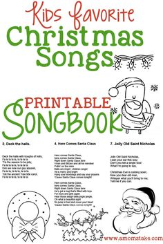 Kids Christmas Songbook
