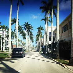 Palm Beach - Spent many days walking, running, rollerblading to the beach in college!