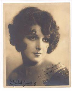 "ORIG1926 SEPIA PORTRAIT SIGNED BY G. MAILLARD KESSLERE & UNKNOWN STARLET ""BEE"""