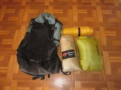 Ultralight Backpacking Gear List - Packing & Camping