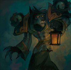 Warcraft Art, World Of Warcraft, Fantasy World, Fantasy Art, Fast Drawing, Werewolf Art, Night Elf, She Wolf, Mythical Creatures Art