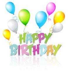 Balloon Of Birthday Wishes Cumpleanos Birthday Wishes Happy