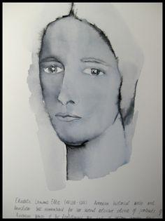 ELIZABETH LUMIS - Serie Women 2016. Técnica mixta y óleo sobre papel Arches de 50,5X38,5cm. By Valverde Enguidanos, Isa #arte #valverde #enguidanos