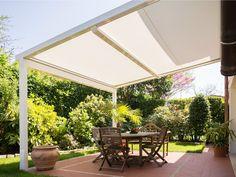 Pergolato con copertura scorrevole XTESA by KE Protezioni Solari