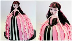 Draculaura Monster High Cake