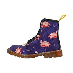 Amazon.com | LEINTEREST flamingo Martin Boots Fashion Shoes For Women | Ankle & Bootie