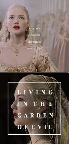 Lucrezia: It's innocence lost. #borgias