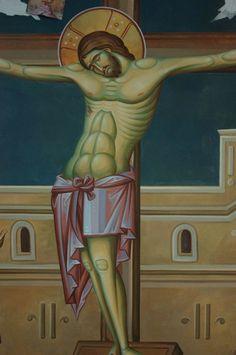 Iconographer Dimitris Maniatis – icoana Byzantine Icons, Byzantine Art, Life Of Christ, Orthodox Christianity, Orthodox Icons, Crucifix, Vignettes, My Arts, Princess Zelda