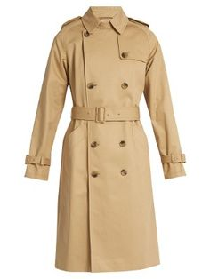 Greta cotton-gabardine trench coat | A.P.C. | MATCHESFASHION.COM