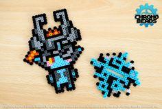 Midna - Legend of Zelda - Twilight Princess - keychain - stand figure hama beads by ChronoBeads