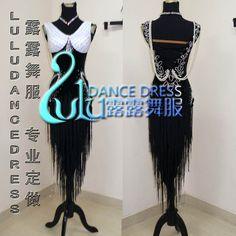 Mouse imagen a zoom LATIN RHYTHM SALSA BALLROOM DANCE DRESS competencia   tamaño s,m en Salón de Novedad y de uso especial en AliExpress.com | Alibaba Group