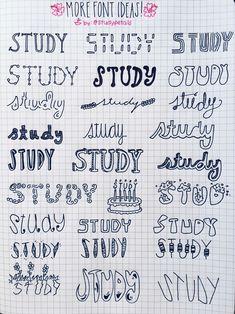Imagen de font, study, and school