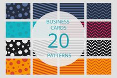 Business card pattern set by LarisaDeac on Embroidery Patterns, Quilt Patterns, Knitting Patterns, Sewing Patterns, Crochet Patterns, Pattern Art, Pattern Design, Free Pattern, Graphic Patterns