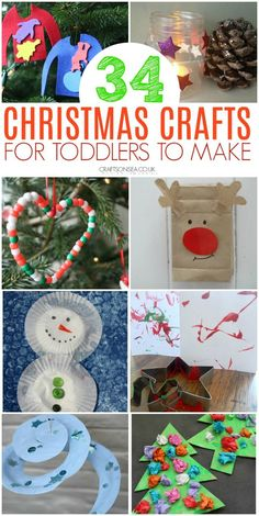 Simple, effective and most of all fun! Fantastic Christmas crafts for toddlers that they'll love and you will too! Ornaments, Christmas tree crafts and Christmas Activities For Toddlers, Christmas Crafts For Toddlers, Animal Crafts For Kids, Easy Crafts For Kids, Christmas Crafts For Kids, Simple Christmas, Toddler Activities, Holiday Crafts, Christmas Ideas