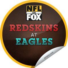 Steffie Doll's NFL on Fox Detroit Lions @ Green Bay Packers Sticker