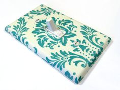 Shabby Chic Home Decor Emerald Turquoise Damask by ModernSwitch, $8.00