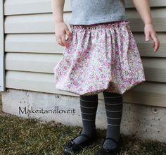 Re-purposing: Bubble Skirt | Make It and Love It