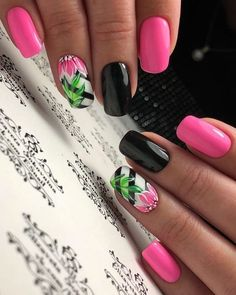 Pour ongle About this pin; 221 Related posts: Beautiful Nail Art Designs for Summer 2019 – Page 9 of 23 Awesome 23 Cute Nail Art Designs To Try In 2017 23 Ombre Nail Designs That You Have to Try This Summer Cute Summer Nail Designs, Cute Summer Nails, Bright Summer Nails, Short Nail Designs, Nail Designs Spring, Cool Nail Designs, Spring Nails, Cute Nails, Pretty Nails