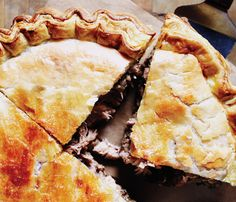 My friend Jody always talks about Tourtiere - her French-Canadian family makes it for Christmas. This recipe, with a pork filling, sounds like my kind of pie.