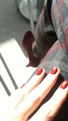 Calaret red #claretred #nailart #nail