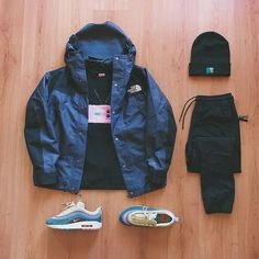 Pin by Brandon the Archivist on Streetwear Outfits in 2019 Swag Outfits Men, Stylish Mens Outfits, Tomboy Outfits, Dope Outfits, Fashion Outfits, Urban Outfits, Hype Clothing, Mens Clothing Styles, Mode Streetwear