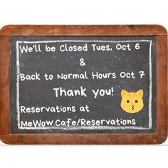 Don't forget we'll be closed tomorrow Tuesday Oct 6. See you Wednesday! #meow #mewow #catsandcoffee #catcafe #adoptdontshop #adoptacat #catadoption #lovecats #ilovecats #kitten #cat #cats #bestcoffee #doylestown Wednesday, Tuesday, Instagram News, Cat Cafe, Best Coffee, I Love Cats, Don't Forget, Kitten, Cute Kittens