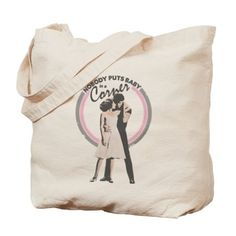 Dirty Dancing Baby in a Corner Tote Bag