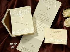 Occasions to Blog: 2015 Wedding Colors - Cream Wedding Invitations (Invitation Link - https://www.yourinvitationplace.com/Detail.aspx?ItemNum=T3703&WebName=occasionsinprint)