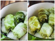 Skinny Stuffed Cabbage Rolls