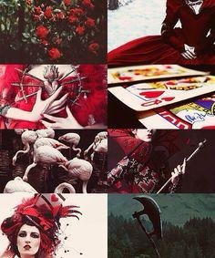 Ladies of disney, Alice in wonderland - Queen of hearts
