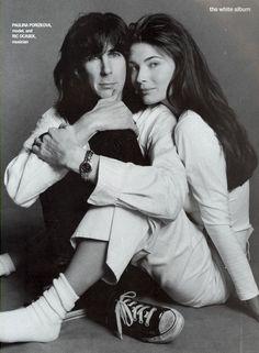 Ric Ocasek & Paulina Porizkova by Steven Meisel - Vogue US April 1994