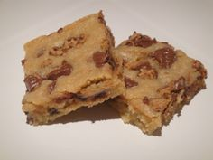 You must try these! Reese's Peanut Butter Cup Blondies from Cooking Light