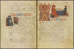 """""""Check out this amazing Visigothic book of liturgical chants and calendars. Preserved in León Cathedral copy of antiphonal) Visigothic, Art Images, Cathedral, Medieval, Vintage World Maps, Photo And Video, Books, Prints, Paper"""