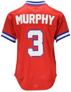44470c4c6 Mitchell   Ness Men Dale Murphy Atlanta Braves Authentic Mesh Batting  Practice V-Neck Jersey