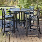 Found it at Wayfair - Trex Outdoor Monterey Bay 5 Piece Bar Set
