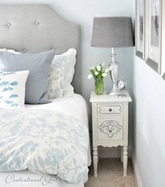 Step by Step Painted Nightstand - Top 60 Furniture Makeover DIY Projects and Negotiation Secrets