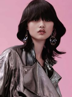 Cong He is a party girl for Vogue China December 2015 by Liu Song