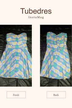 Ikat Tube #Dress