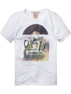T-shirt Scotch Shrunk