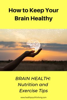 How to Keep Your Brain Healthy: Nutrition and Exercise Tips Fitness Nutrition, Healthy Nutrition, Fitness Goals, Fitness Tips, Fitness Motivation, Healthy Brain, Brain Health, Healthy Habits, Mental Health