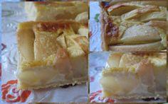 Nous on adore les tartes aux pommes, c'est un classique dont nous nous lassons pas. Pour faire la pâte à tarte, je n'ai pas utilisé du beurre ni du yaourt ni de la purée d'amande mais du mascarpone , et oui !!! J'ai vu cette recette chez ma copinaute...