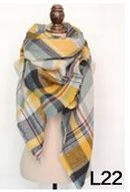 Cover me Up Blanket Scarf, Multiple Colors