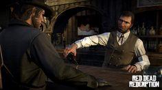 I may have to paint this screenshot from Red Dead Redemption (http://castillodebowser.files.wordpress.com/2011/05/john-en-el-bar1.jpg)