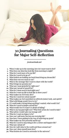 How to Journal + 30 Journaling Questions for Major Self-Reflection