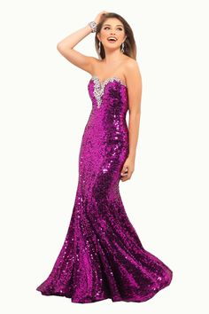 Sexy Strapless Sheath Sweetheart Decorated Rhinestone Floor Length Prom Dress